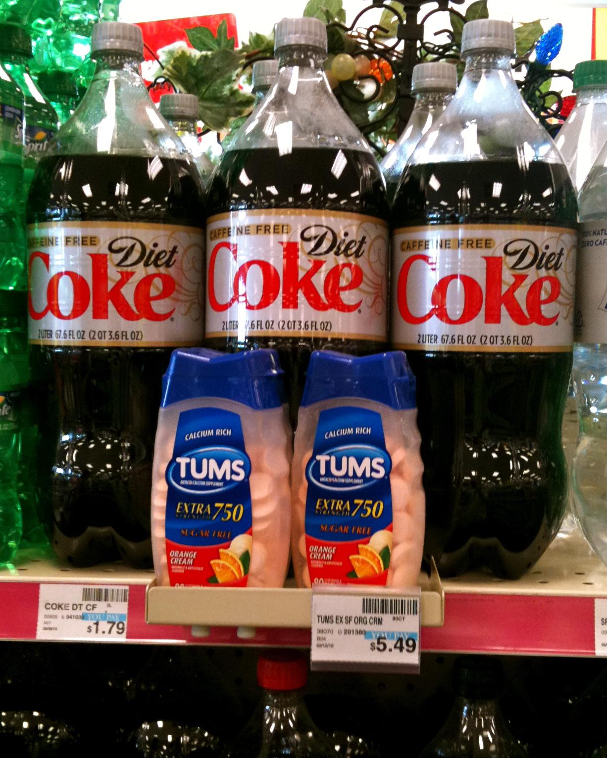 Coke tumbs