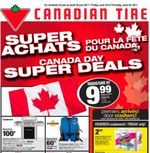Cdn Tire Canada Day